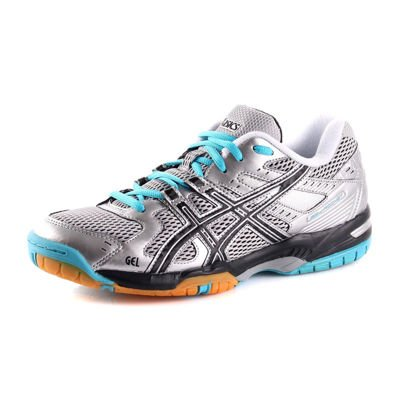 Asics GEL-ROCKET WOMEN'S 9390 Silver/Black/Blue