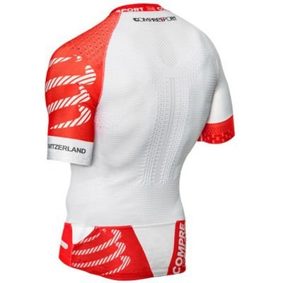 Compressport Trail Running Shirt V2 White