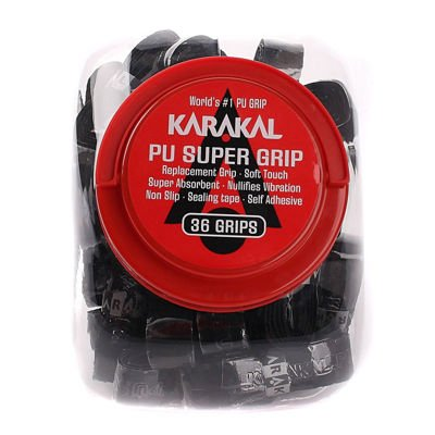 Karakal PU Super Grip Black 36 pcs