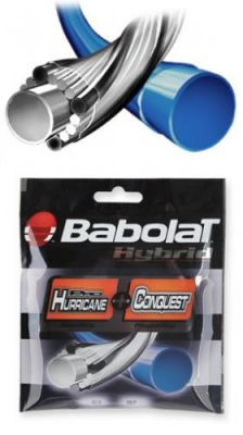 Naciąg Babolat HYB PH 1,25 + Conquest 1,3
