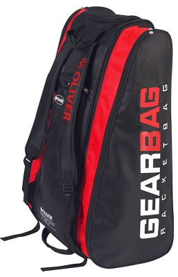 Oliver GearBag Black/Red