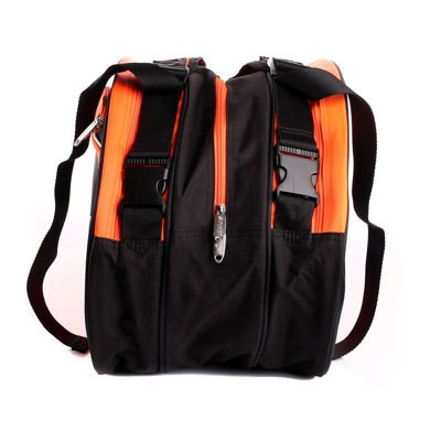 Oliver TripleBag Black/Orange