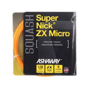 Ashaway SuperNick ZX MICRO ORANGE Set 9 m