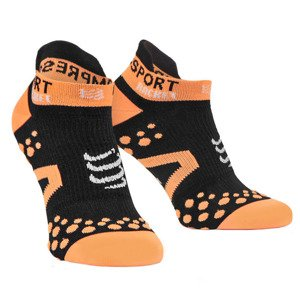 Compressport Racket Socks Low Cut Schwarz
