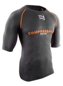 Compressport Trail Running Shirt Schwarz