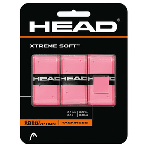 Head Xtreme Soft Rosa 3 pack