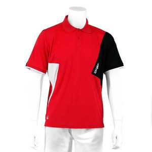 Karakal Dijon Button Polo Red/White/Black
