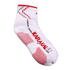 Karakal X3 Ankle Technical Socks White/Red