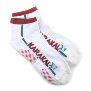 Karakal X3 Trainer Technical Socks Weiß/Rot