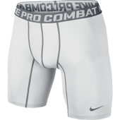 NIKE CORE COMPRESSION 6'' 2.0 WHITE