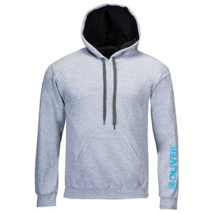 Oliver Hooded Sweat Grau