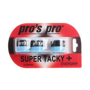 Overgrip Pro's Pro Super Tacky Blau 3pcs.