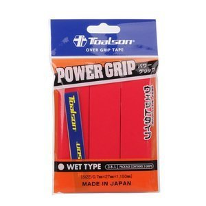 Toalson Power Grip Rot 3 pcs.