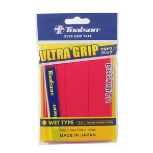 Toalson Ultra Grip Rot 3 pcs.