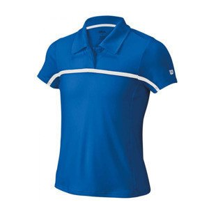 Wilson Team Polo Blau Junior