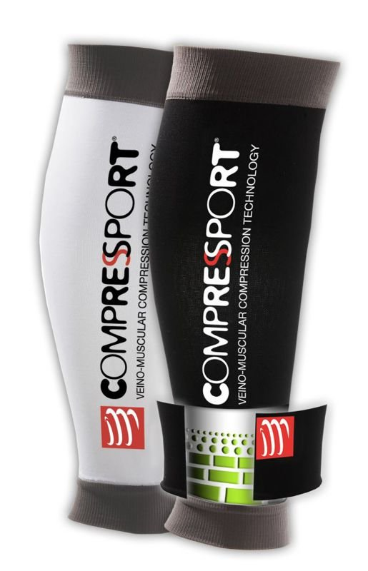 Compressport Calf R2 US White