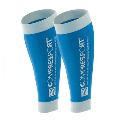 Compressport Calf R2 Light Blue