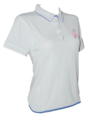 Koszulka Karakal Amara Polo White/Breeze