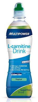 Napój MULTIPOWER  L-CARNITINE DRINK 500 ml ŻURAWINA