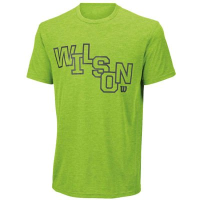 Wilson Stacked Tech Tee Green