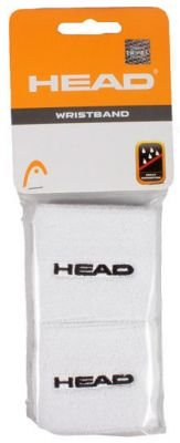 Wristband Head White 2 pcs