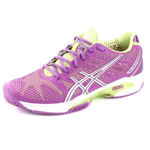 Buty Asics WOMEN'S GEL-Solution Speed 2 CLAY 3693 Fiolet/Srebrny/Zielony