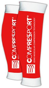 Opaski Compressport Calf R2 Red