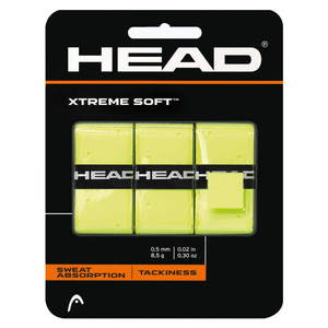 Owijka Head Xtreme Soft Żółta 3 pack