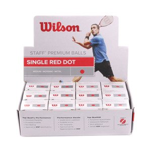 Piłka Wilson Staff Red Dot