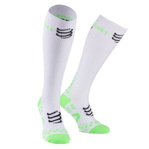 Skarpety Compressport Play&DTOX Full Socks Racket Białe