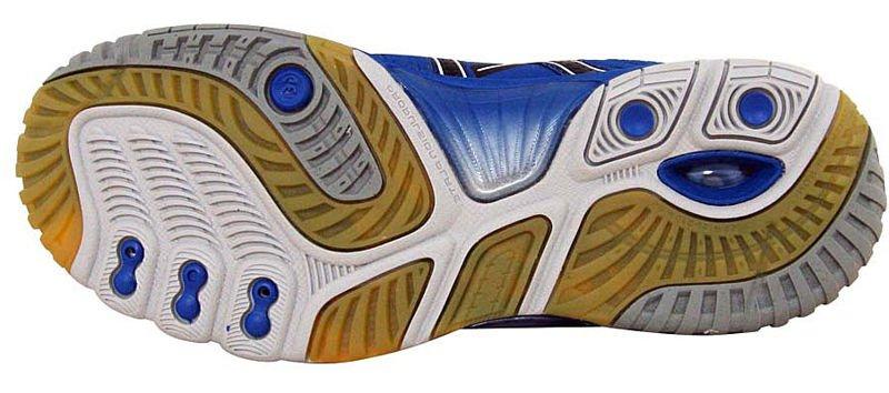 Buty Asics GEL SENSEI 3 0101 BiałyNiebieski | SQUASH  Buty