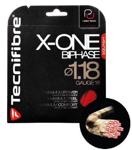 Naciąg Tecnifibre X-ONE Biphase RED 1,18 mm