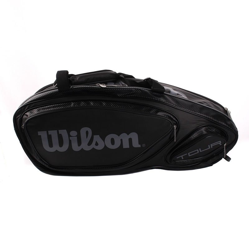 b7701adace6dc Thermobag Wilson Tour V 9 Pack BLACK | SQUASH \ TORBY \ Wilson ...