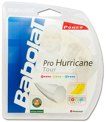 Naciąg Babolat Pro Hurricane Tour 1,25 Yellow