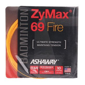 Ashaway ZyMax 69 FIRE ORANGE Set 10m