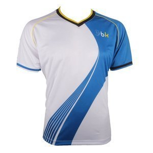 Black Knight MF Swoosh T-Shirt White/Blue