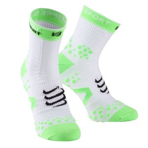 Compressport Racket Straping Socks White