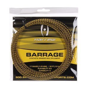 Harrow Barrage Yellow/Black 17G - 10m set
