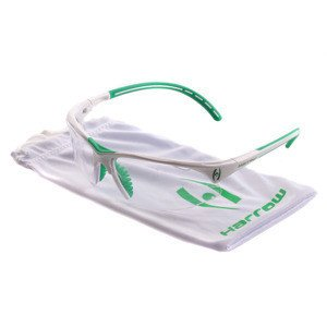 Harrow Covet Eye Guard White/Green