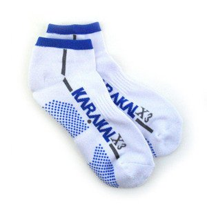 Karakal X3 Trainer Technical Socks White/Blue