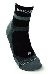 Karakal X4 Ankle Technical Sport Socks Black
