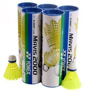 Yonex Mavis 2000 Middle Yellow 5-pack