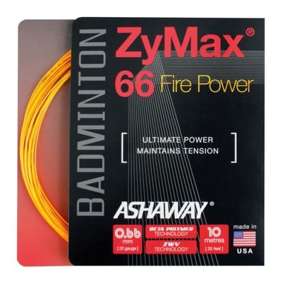 Ashaway ZyMax 66 FIRE Orange Set 10m