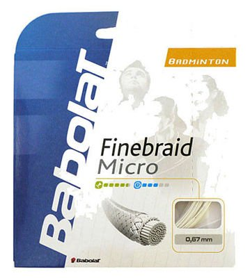 Babolat Finebraid Micro 0,67 set White