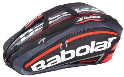 Babolat  Thermobag Team X6 Black Flou Red