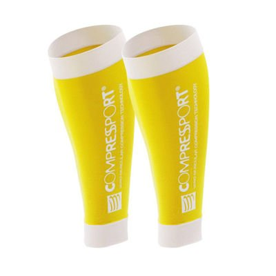 Compressport Calf R2 Yellow