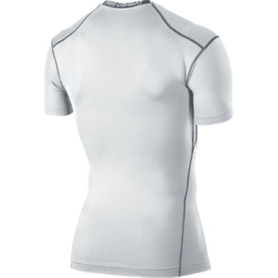NIKE CORE COMPRESSION SS TOP White