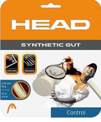 Naciąg Head Synthetic Gut Czarny 17g 1,2 mm 12m