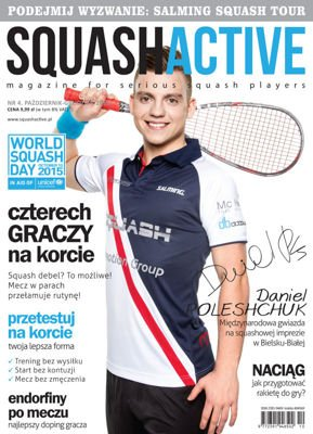 SquashActive October-December 2015